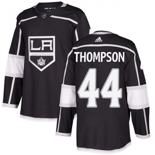 Nate Thompson Los Angeles Kings Youth Adidas Authentic Black Home Jersey