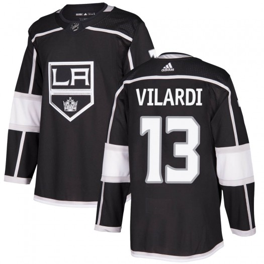 Gabriel Vilardi Los Angeles Kings Youth Adidas Authentic Black Home Jersey