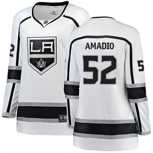 Michael Amadio Los Angeles Kings Women's Fanatics Branded White Breakaway Away Jersey