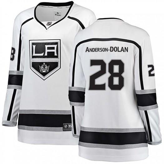 Jaret Anderson-Dolan Los Angeles Kings Women's Fanatics Branded White Breakaway Away Jersey