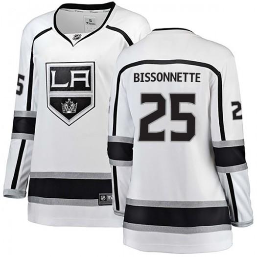 Paul Bissonnette Los Angeles Kings Women's Fanatics Branded White Breakaway Away Jersey