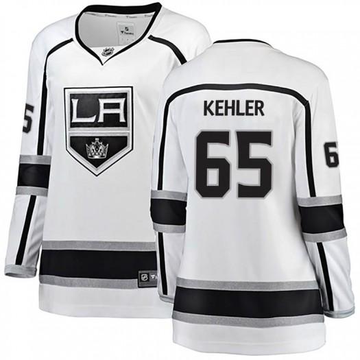 Cole Kehler Los Angeles Kings Women's Fanatics Branded White Breakaway Away Jersey