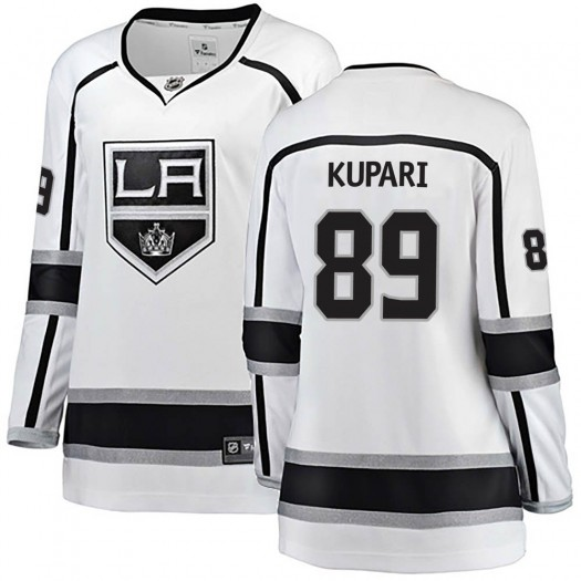Rasmus Kupari Los Angeles Kings Women's Fanatics Branded White Breakaway Away Jersey
