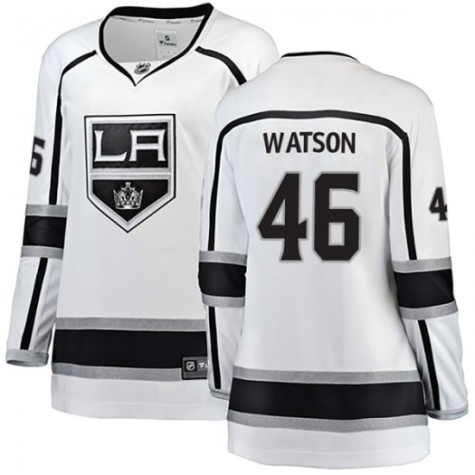 Spencer Watson Los Angeles Kings Women's Fanatics Branded White Breakaway Away Jersey