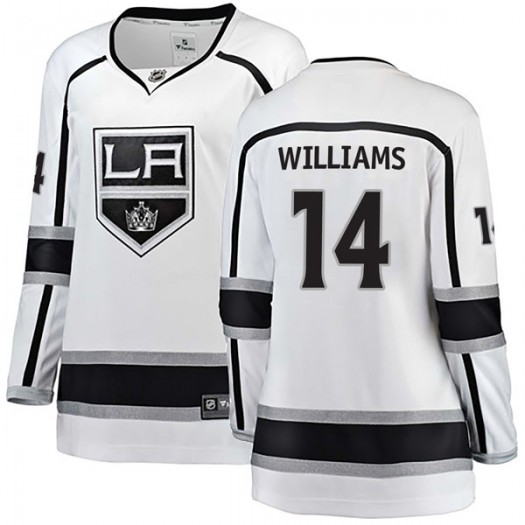 Justin Williams Los Angeles Kings Women's Fanatics Branded White Breakaway Away Jersey