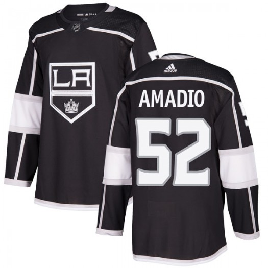 Michael Amadio Los Angeles Kings Men's Adidas Authentic Black Home Jersey