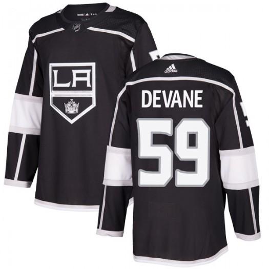 Jamie Devane Los Angeles Kings Men's Adidas Authentic Black Home Jersey
