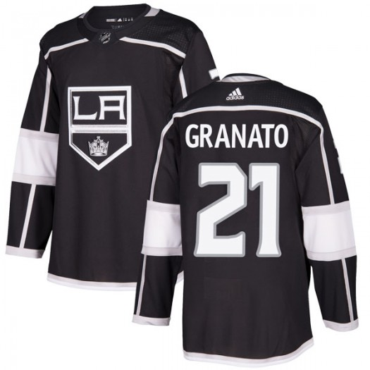 Tony Granato Los Angeles Kings Men's Adidas Authentic Black Home Jersey