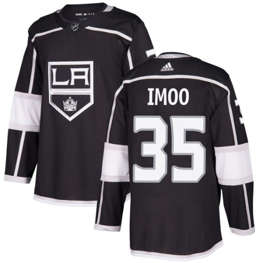 Jonah Imoo Los Angeles Kings Men's Adidas Authentic Black Home Jersey