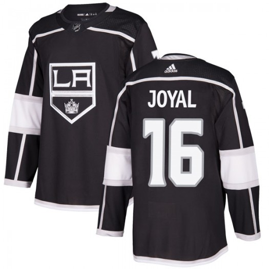 Eddie Joyal Los Angeles Kings Men's Adidas Authentic Black Home Jersey
