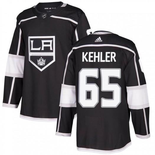 Cole Kehler Los Angeles Kings Men's Adidas Authentic Black Home Jersey