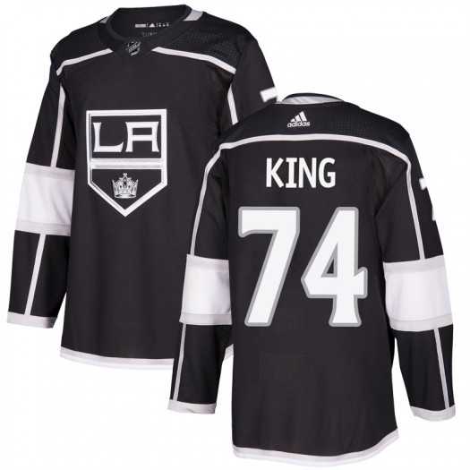 Dwight King Los Angeles Kings Men's Adidas Authentic Black Home Jersey