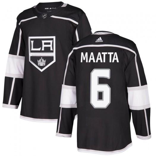 Olli Maatta Los Angeles Kings Men's Adidas Authentic Black Home Jersey