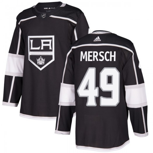 Michael Mersch Los Angeles Kings Men's Adidas Authentic Black Home Jersey