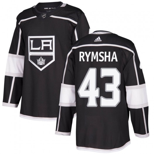 Drake Rymsha Los Angeles Kings Men's Adidas Authentic Black Home Jersey