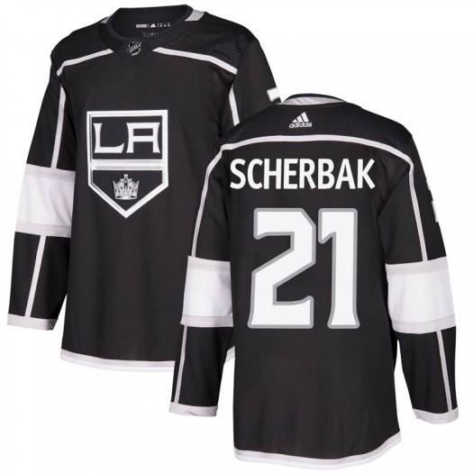 Nikita Scherbak Los Angeles Kings Men's Adidas Authentic Black Home Jersey