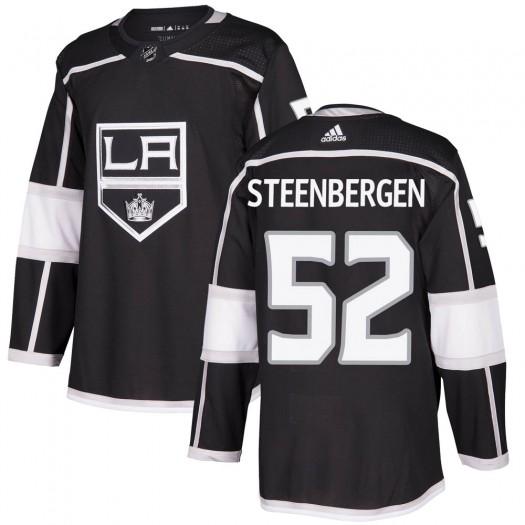 Tyler Steenbergen Los Angeles Kings Men's Adidas Authentic Black Home Jersey