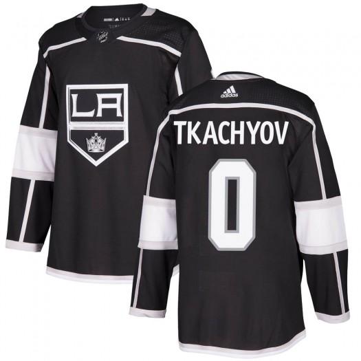 Vladimir Tkachyov Los Angeles Kings Men's Adidas Authentic Black Home Jersey