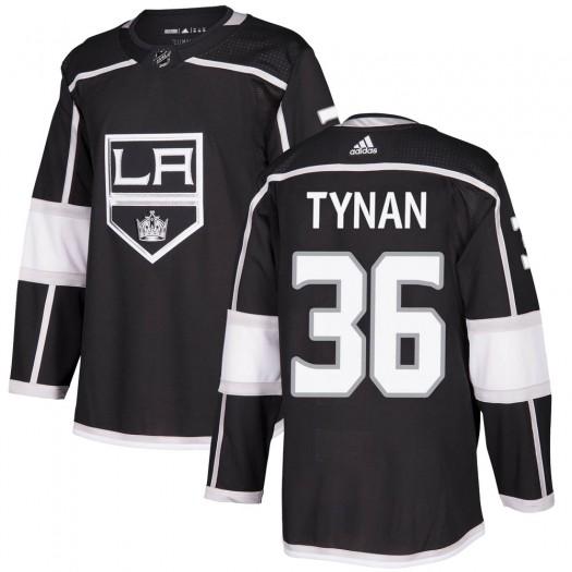 T.J. Tynan Los Angeles Kings Men's Adidas Authentic Black Home Jersey