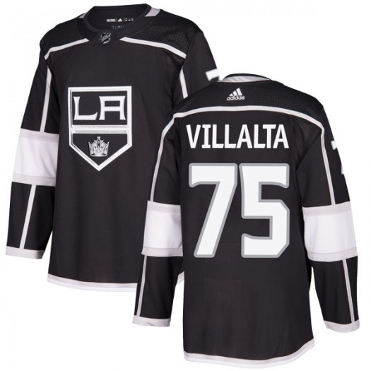 Matt Villalta Los Angeles Kings Men's Adidas Authentic Black Home Jersey