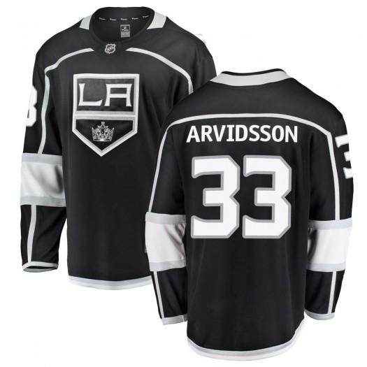 Viktor Arvidsson Los Angeles Kings Men's Fanatics Branded Black Breakaway Home Jersey