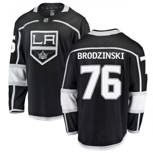 Jonny Brodzinski Los Angeles Kings Men's Fanatics Branded Black Breakaway Home Jersey