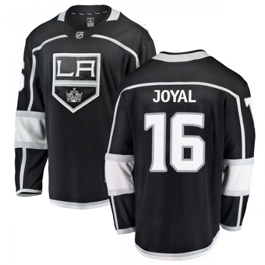 Eddie Joyal Los Angeles Kings Men's Fanatics Branded Black Breakaway Home Jersey