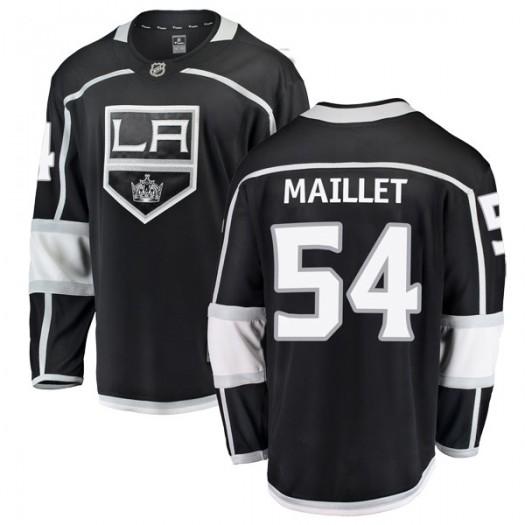 Philippe Maillet Los Angeles Kings Men's Fanatics Branded Black Breakaway Home Jersey