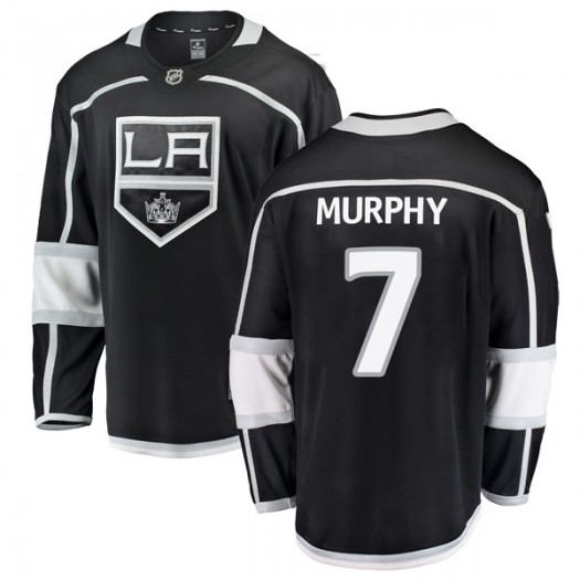 Mike Murphy Los Angeles Kings Men's Fanatics Branded Black Breakaway Home Jersey