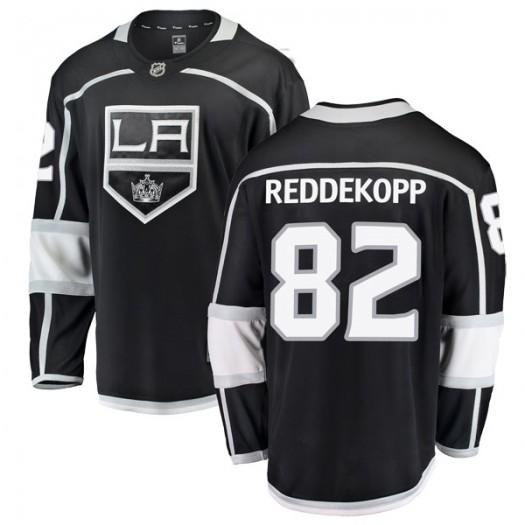 Chaz Reddekopp Los Angeles Kings Men's Fanatics Branded Black Breakaway Home Jersey