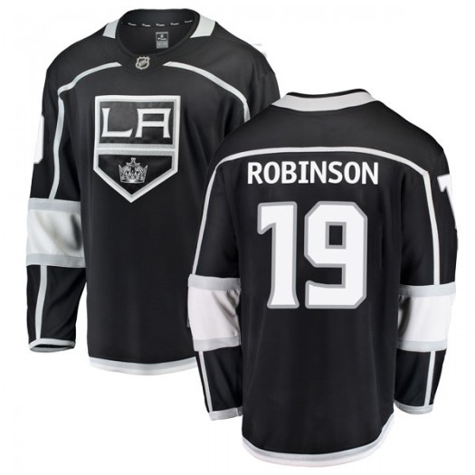 Larry Robinson Los Angeles Kings Men's Fanatics Branded Black Breakaway Home Jersey
