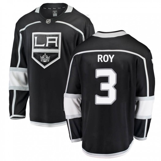 Matt Roy Los Angeles Kings Men's Fanatics Branded Black Breakaway Home Jersey