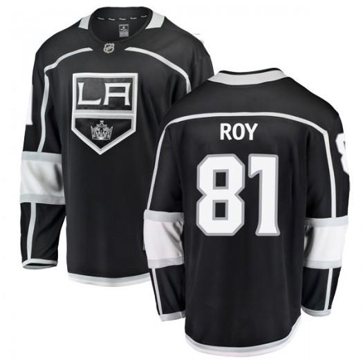 Matt Roy Los Angeles Kings Men's Fanatics Branded Black Breakaway Home Jersey