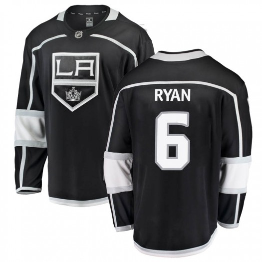 Joakim Ryan Los Angeles Kings Men's Fanatics Branded Black Breakaway Home Jersey