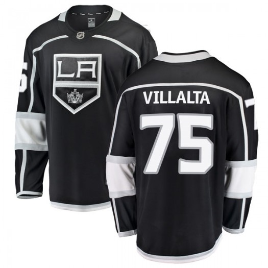 Matt Villalta Los Angeles Kings Men's Fanatics Branded Black Breakaway Home Jersey