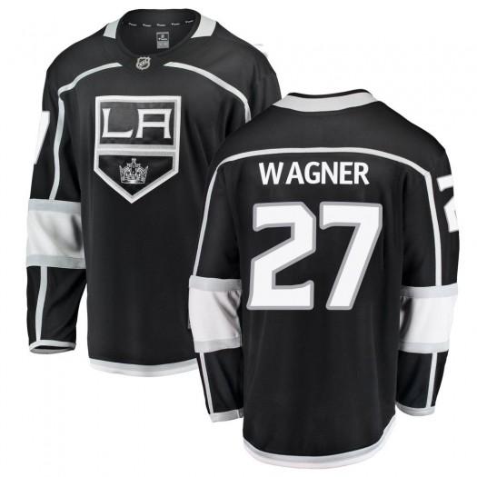 Austin Wagner Los Angeles Kings Men's Fanatics Branded Black Breakaway Home Jersey