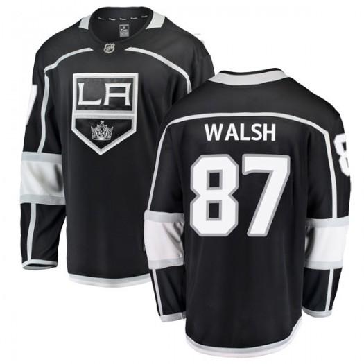 Shane Walsh Los Angeles Kings Men's Fanatics Branded Black Breakaway Home Jersey