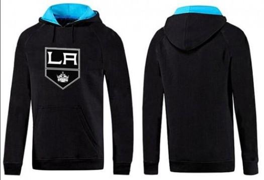 Los Angeles Kings Men's Black/Blue Big & Tall Logo Pullover Hoodie