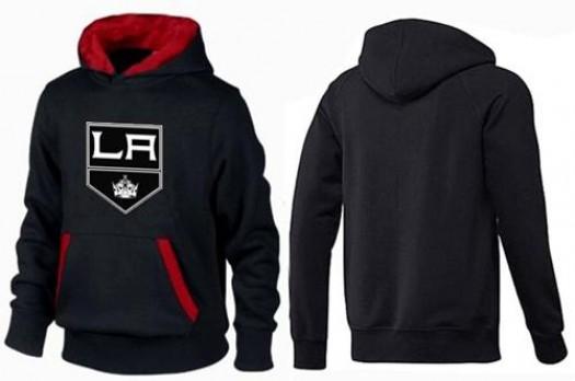 Los Angeles Kings Men's Black/Red Big & Tall Logo Pullover Hoodie
