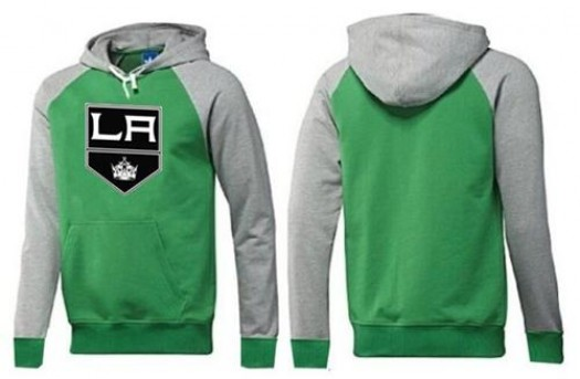 Los Angeles Kings Men's Green Big & Tall Logo Pullover Hoodie/Grey