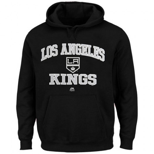 Los Angeles Kings Men's Majestic Black Heart & Soul Hoodie