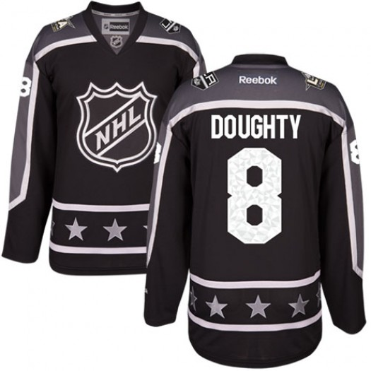 Drew Doughty Los Angeles Kings Men's Reebok Authentic Black Pacific Division 2017 All-Star Jersey