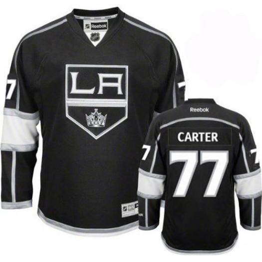 Jeff Carter Los Angeles Kings Men's Reebok Authentic Black Home Jersey