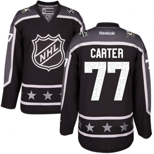 Jeff Carter Los Angeles Kings Men's Reebok Authentic Black Pacific Division 2017 All-Star Jersey
