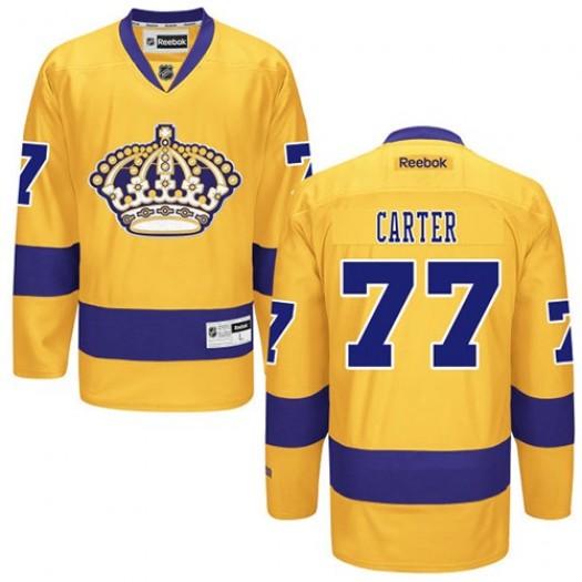 Jeff Carter Los Angeles Kings Men's Reebok Premier Gold Alternate Jersey