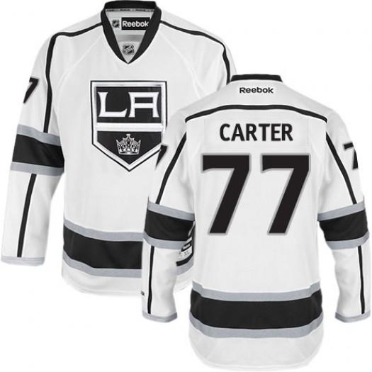 Jeff Carter Los Angeles Kings Men's Reebok Premier White Away Jersey