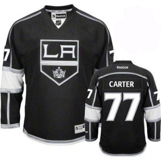 Jeff Carter Los Angeles Kings Youth Reebok Authentic Black Home Jersey