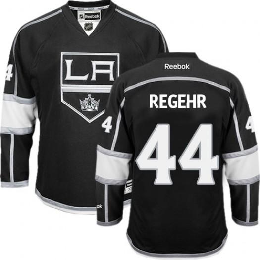 Robyn Regehr Los Angeles Kings Men's Reebok Authentic Black Home Jersey