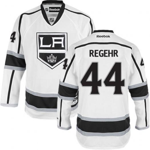Robyn Regehr Los Angeles Kings Men's Reebok Premier White Away Jersey