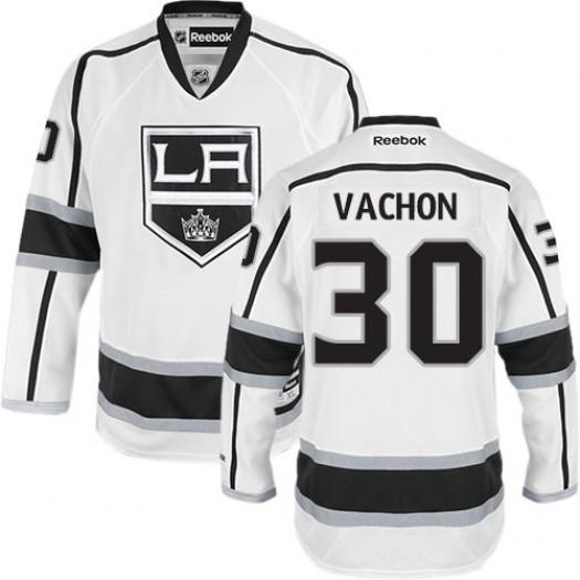 Rogie Vachon Los Angeles Kings Men's Reebok Premier White Away Jersey